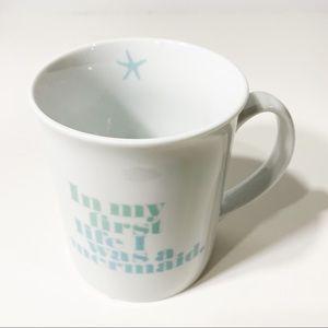Bloomingdales Mermaid coffee cup star fish Fringe